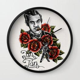 """German Valdés """"Tin-Tan"""" Wall Clock"""