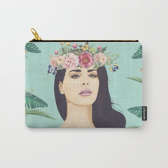 Hipster Queen Carry-All Pouch
