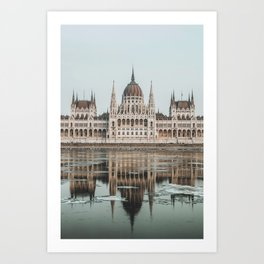 Budapest Parliament II Art Print