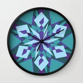 Crazy Mandala Wall Clock