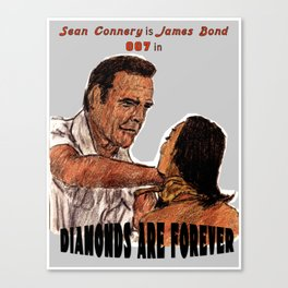 Diamonds Are Forever Canvas Print