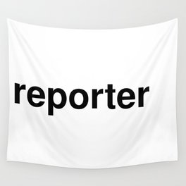 reporter Wall Tapestry