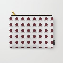 Chocolate Cosmos Carry-All Pouch