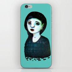 Night Girl III iPhone & iPod Skin