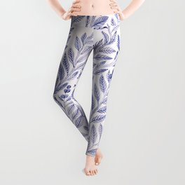 Wild Blue Leggings