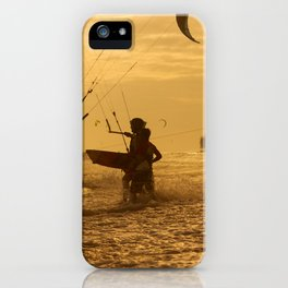 Kitesurfing iPhone Case