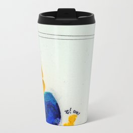Study for Figure at the Base of a Crucifixion #1 Metal Travel Mug