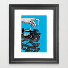Mechanical rat Framed Art Print