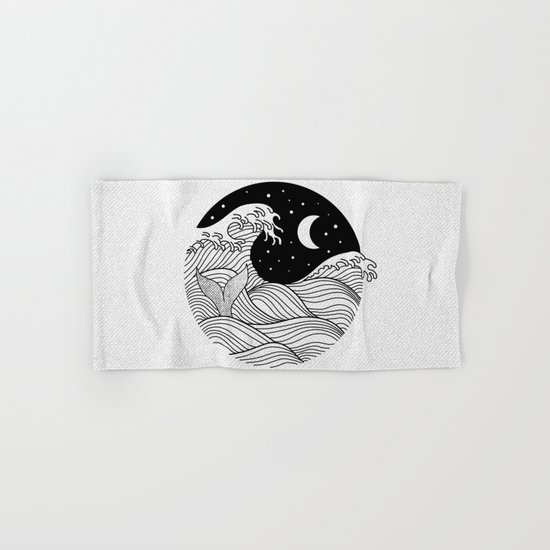 Night Swim Hand & Bath Towel