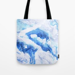Ocean Marble Tote Bag