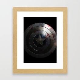 CAPTAIN AMERICA'S SHIELD Framed Art Print