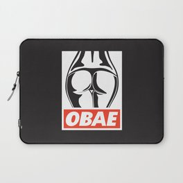 OBAE the booty. Laptop Sleeve