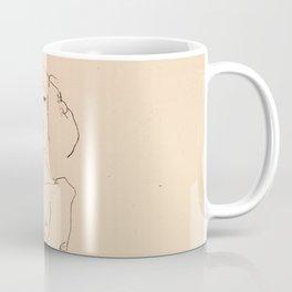 Egon Schiele - Couple embracing Coffee Mug