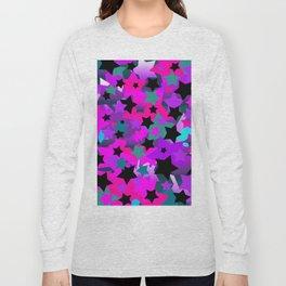 Punk Rock Star Crazy Long Sleeve T-shirt