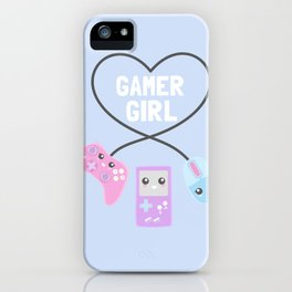 Gamer Girl iPhone Case
