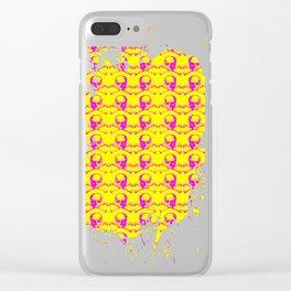 Skull N Bone Clear iPhone Case