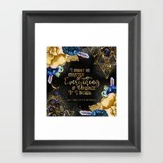 Master of Everything (ACOMAF) Framed Art Print