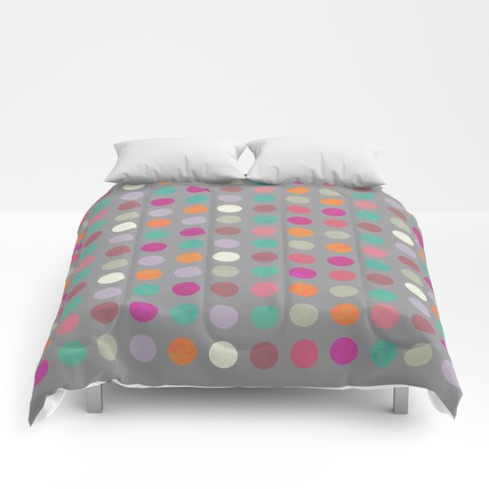 Colorful Circles IV Comforters