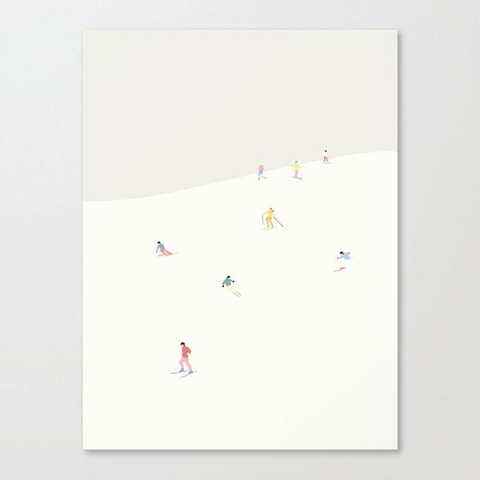 SKIBAKKEN Canvas Print