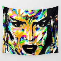 acid Wall Tapestries featuring Acid Kendall by Simon Falk