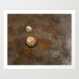 Clockworks Art Print