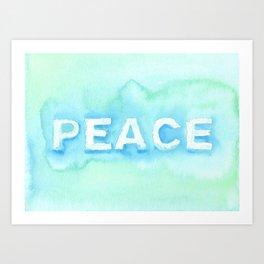 Peace No. 1 Art Print