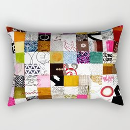 Looking for more space Rectangular Pillow