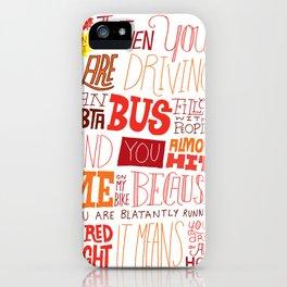 MBTA: Fun Fact! iPhone Case