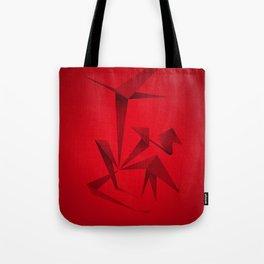 RED ANGLE Tote Bag