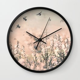 Spring to life Wall Clock