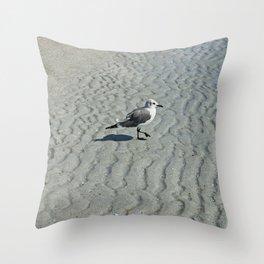 Wednesday Waves Throw Pillow