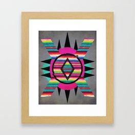 Serape II Framed Art Print
