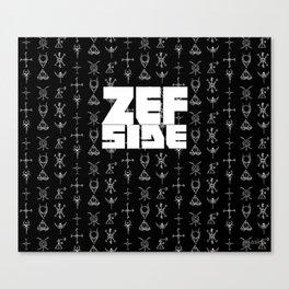 Zef Side Design Canvas Print
