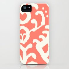 Ikat in coral  iPhone (5, 5s) Slim Case