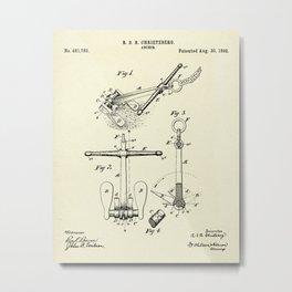 Anchor-1892 Metal Print