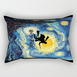 Young wizzard abstract art painting iPhone 4 4s 5 5c, ipod, ipad, pillow case, tshirt and mugs Rectangular Pillow