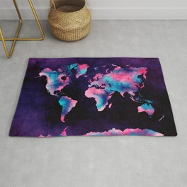 world map 62 Rug