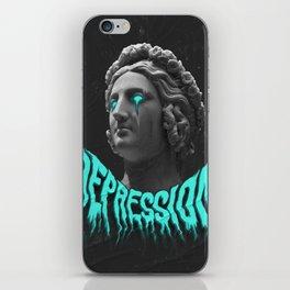 Depression iPhone Skin