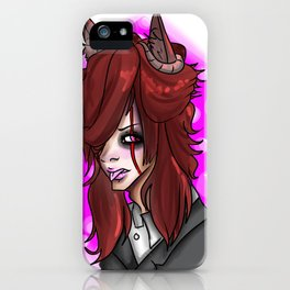 Wolf Demon iPhone Case