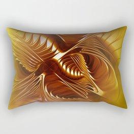 flames on texture -702- Rectangular Pillow
