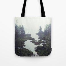 Moonlit Fogscape Tote Bag