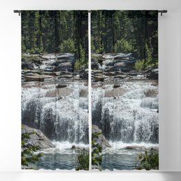 California Forest Waterfall Blackout Curtain