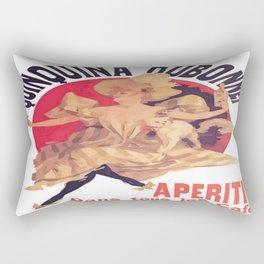 Quinquina Dubonnet Aperitif  Dans Tous Les Cafes Rectangular Pillow