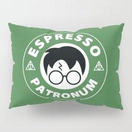 Espresso Patronum green Pillow Sham