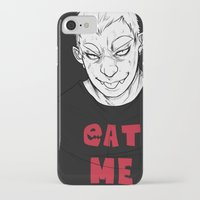 eat iPhone & iPod Cases featuring Eat by ESKART