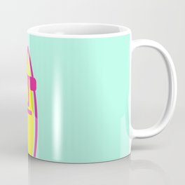 Surf board dude Coffee Mug