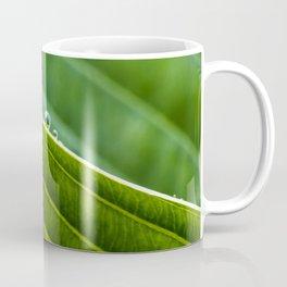 on the edge of a leaf Coffee Mug