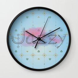 Jazzy okami v.2 Wall Clock