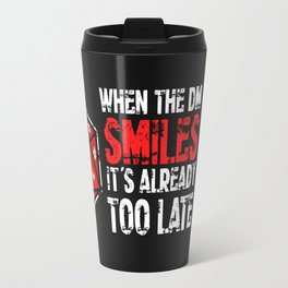 When the Dungeon Master smiles... Travel Mug