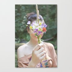 Wildflower/Wallflower Canvas Print